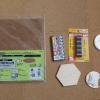 今回の材料。ニッパーは銅線やエナメル線を切るためにあります。ざっと1000円くらいです。