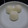 miniを3つ食べる