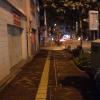 深夜のくせに明るいですね。さすがは東京
