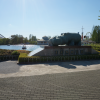 東武動物公園。久々にやってきた。カバの銅像。