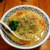 2015/08/23の担々麺。細麺。あれ、これも普通盛りだ。