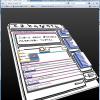 3D Viewで自分のサイト。おお、おもしれー。それと同時に、おかしい部分もすぐ分かりそうだ。