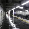 武蔵浦和駅の屋根が全く役に立たない。