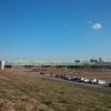 京浜東北線とかが走ってる橋。真ん中のほっそ~いのが東京スカイツリー。