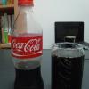 飲んでみると、心地よいおいしさ。さすがはコカコーラ。もっと飲みたい