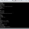 こんなふうにRaspberry Piのブート画面が開きます。あとはそのままシェルとして操作できます。すごいですね〜