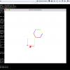 I love Python!! turtleモジュールを動かしたスクショ。
