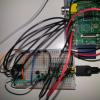 前回のAD変換の回路をそのままに、シリアルコンソールで表示させてみましょう。