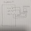 概略図。Raspberry PiとAM2320とはこうつなげた。