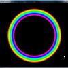 Image#circleFillを使って円を内側に向かって描いていけば、隙間が埋まる。