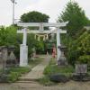 姫宮神社。この神社と、身代(このしろ)神社をとって宮代としたそうな。